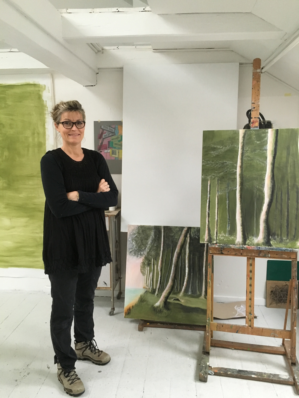 Kontakt, Marianne Sigersted kunstner